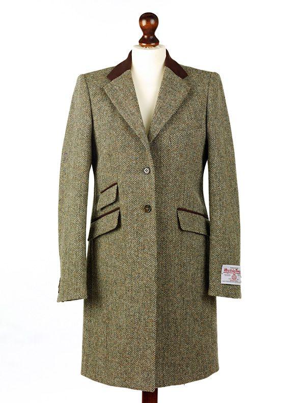 ladies tori harris tweed coat | Clothes | Pinterest | Coats, Lady ...