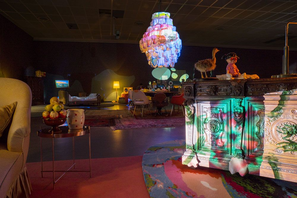 'Pipilotti Rist', exhibition view at Kunsthaus Zürich, 2016. Courtesy: the artist, Hauser & Wirth and Luhring Augustine; photograph: Lena Huber