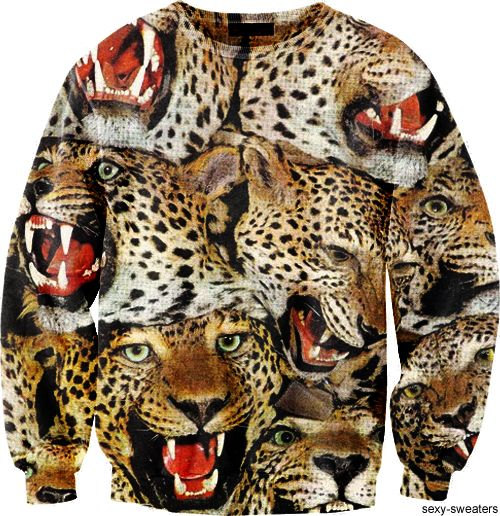 Tijgerprint Behang #gimme #want #high-fashion #sweatshirt #cool #streetwear #