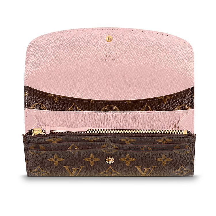 df1055bb91831 Discover Louis Vuitton Emilie Wallet  Proving that functionality and  beautiful design can go together