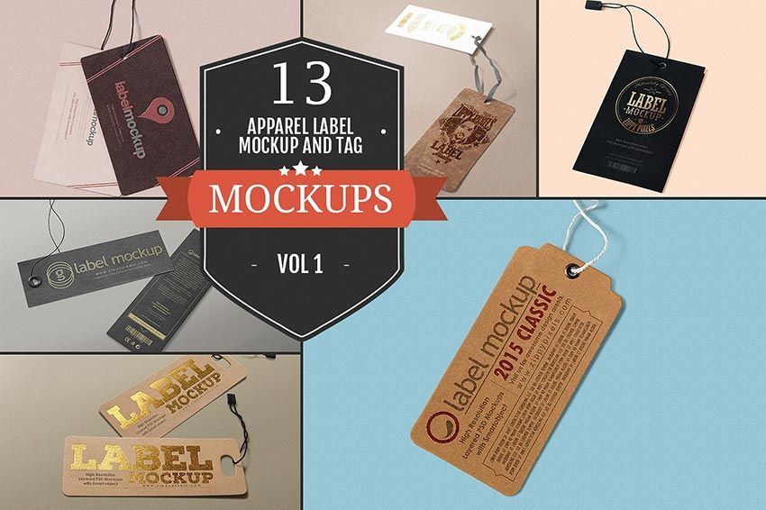 25+ Best Free Apparel Label Tag Mockup PSD Graphiceat Mockup - abel templates psd