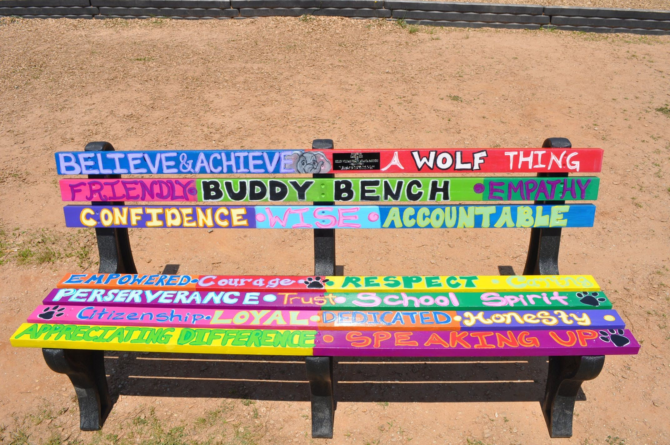 Image result for buddy bench