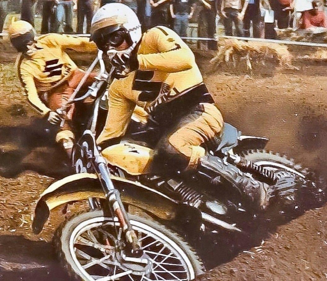 Joel Roberts In 2020 Motocross Bikes Vintage Bikes Motocross