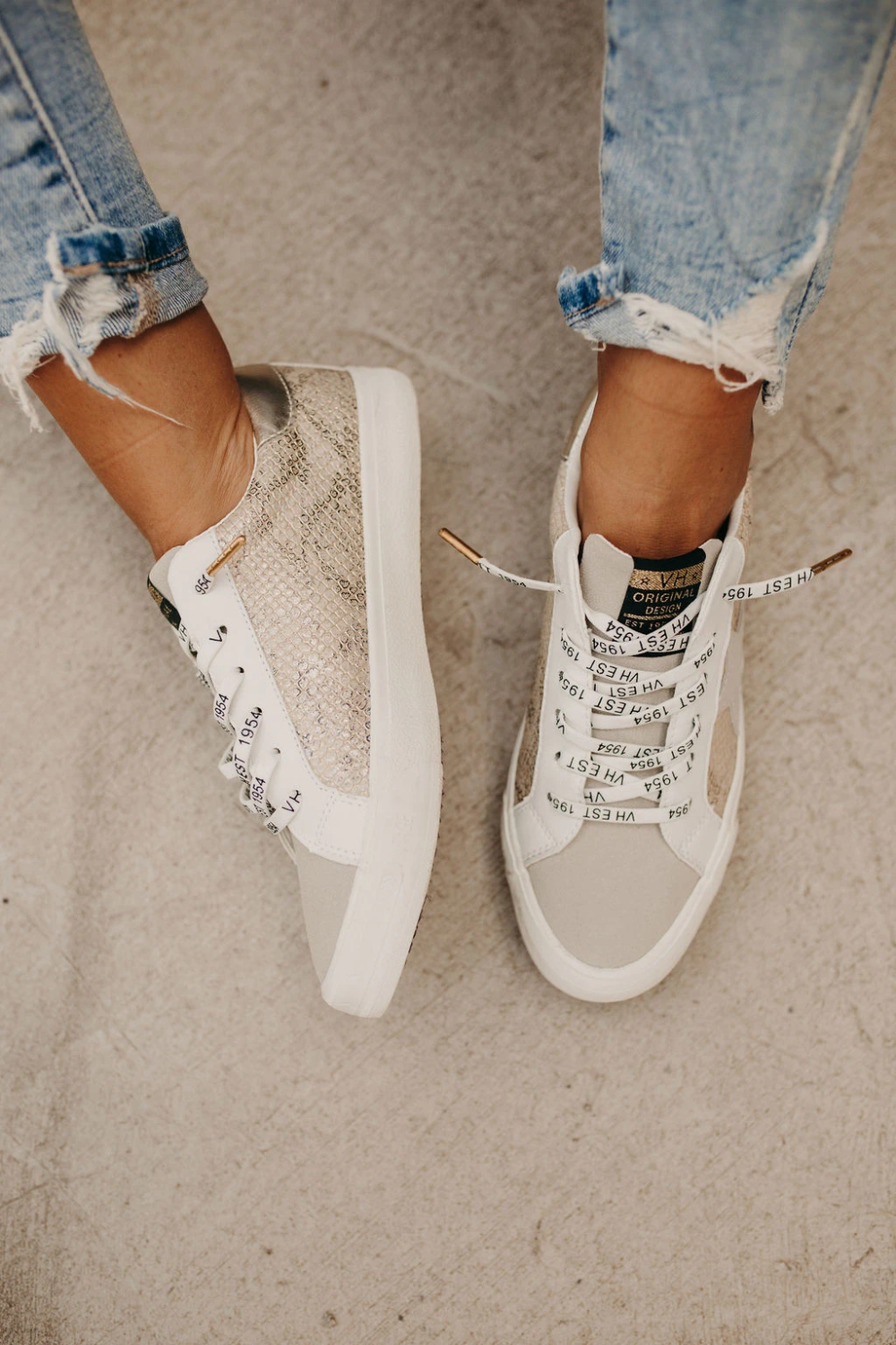 Kate Sneakers - Gold Snake in 2020