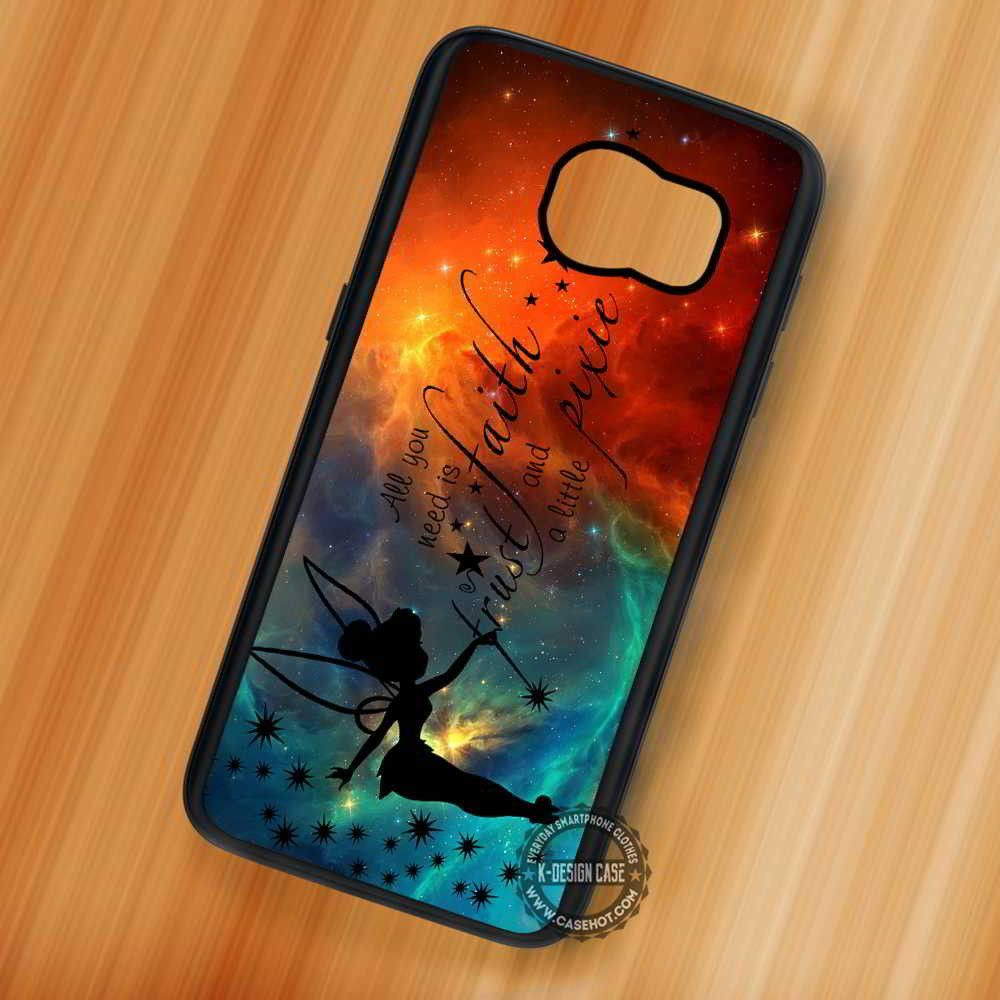 best website 4d0a4 6d89a Pixie Dust Tinkerbell Quotes Nebula - Samsung Galaxy S8 S7 S6 Note 8 ...