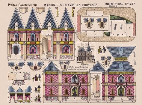 All sizes   paper toys - maison de provence   Flickr - Photo Sharing!