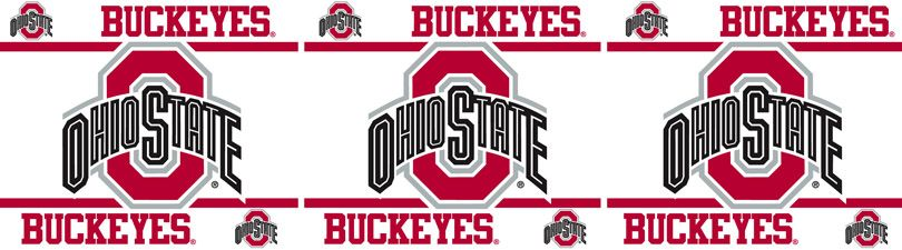 Ohio State Helmet Wallpaper Border Buckeyes