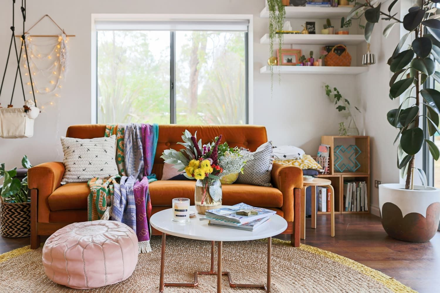 Urban Outfitters Home Sale Is An Extra 40 Off These Are Our Favorite Finds Under 100 Bohemian Living Room Decor Boho Living Room Inspiration Casual Living Rooms