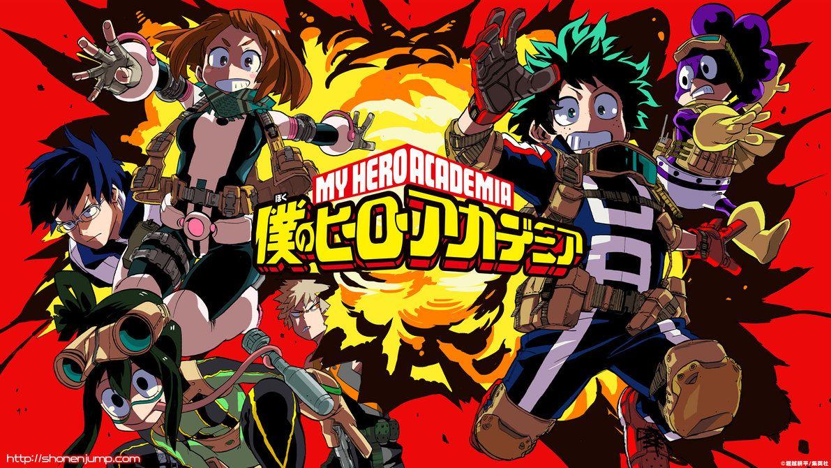 Boku No Hero Academia My Hero Academia Hd Anime Hero Wallpaper Boku No Hero Academia Hero