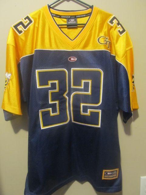 24f2eef6712 Georgia Tech Yellow Jackets # 32 Football jersey , Large - College-NCAA