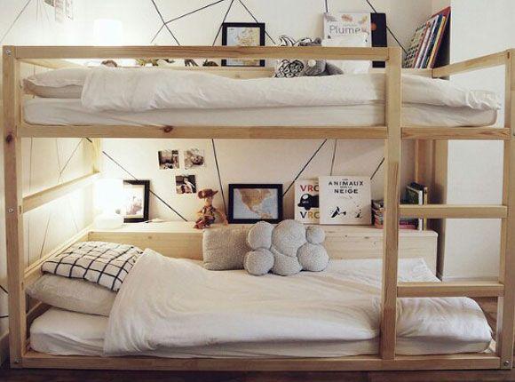 Diy Slaapkamer Inspiratie : Ikea bed ikeabed hoogslaper omkeerbaarbed kleuter juniorbed
