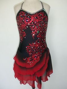ice skater uniform - Google Search