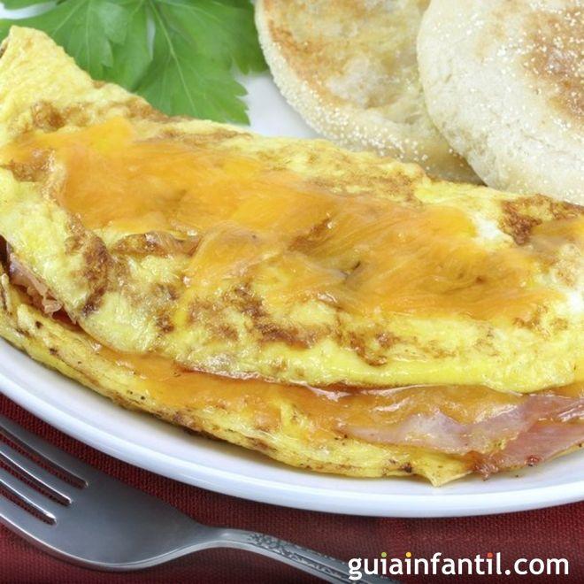 Recetas De Tortillas Para Ninos Omelette De Jamon Receta De