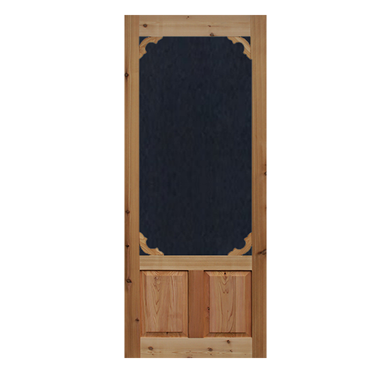 Screen Door Cedar Woodland 1 3 8 In Thick Wood Doors Interior Wooden Screen Door Aluminum Screen Doors