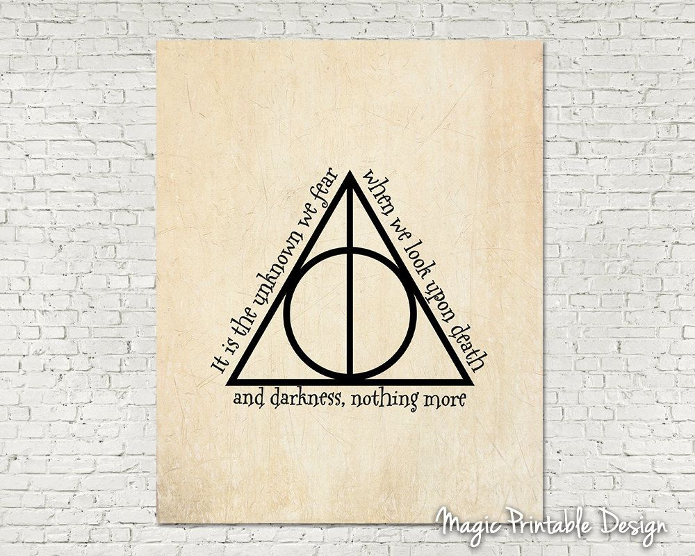 Deathly hallows symbol harry potter art deathly hallows poster deathly hallows symbol harry potter art deathly hallows poster harry potter wall art movie quote fan art printable old biocorpaavc