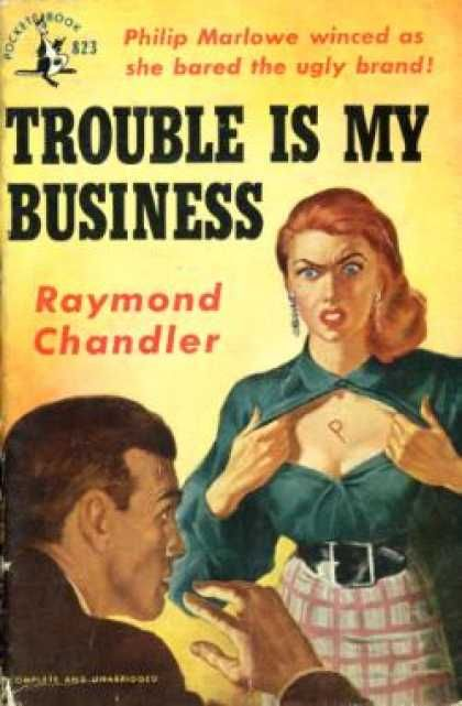 a comparison of the movie by chandler and a novel by cain Writers such as dashiell hammett, raymond chandler, and james m cain wrote many books that were eventually turned into film noir what these authors and films have in common is a cynical and bleak outlook with a tough main character.