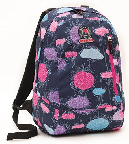 d3c10283ae1a INVICTA TWIST double face 2 Backpack in 1 Rose Blue REVERSIBLE ...