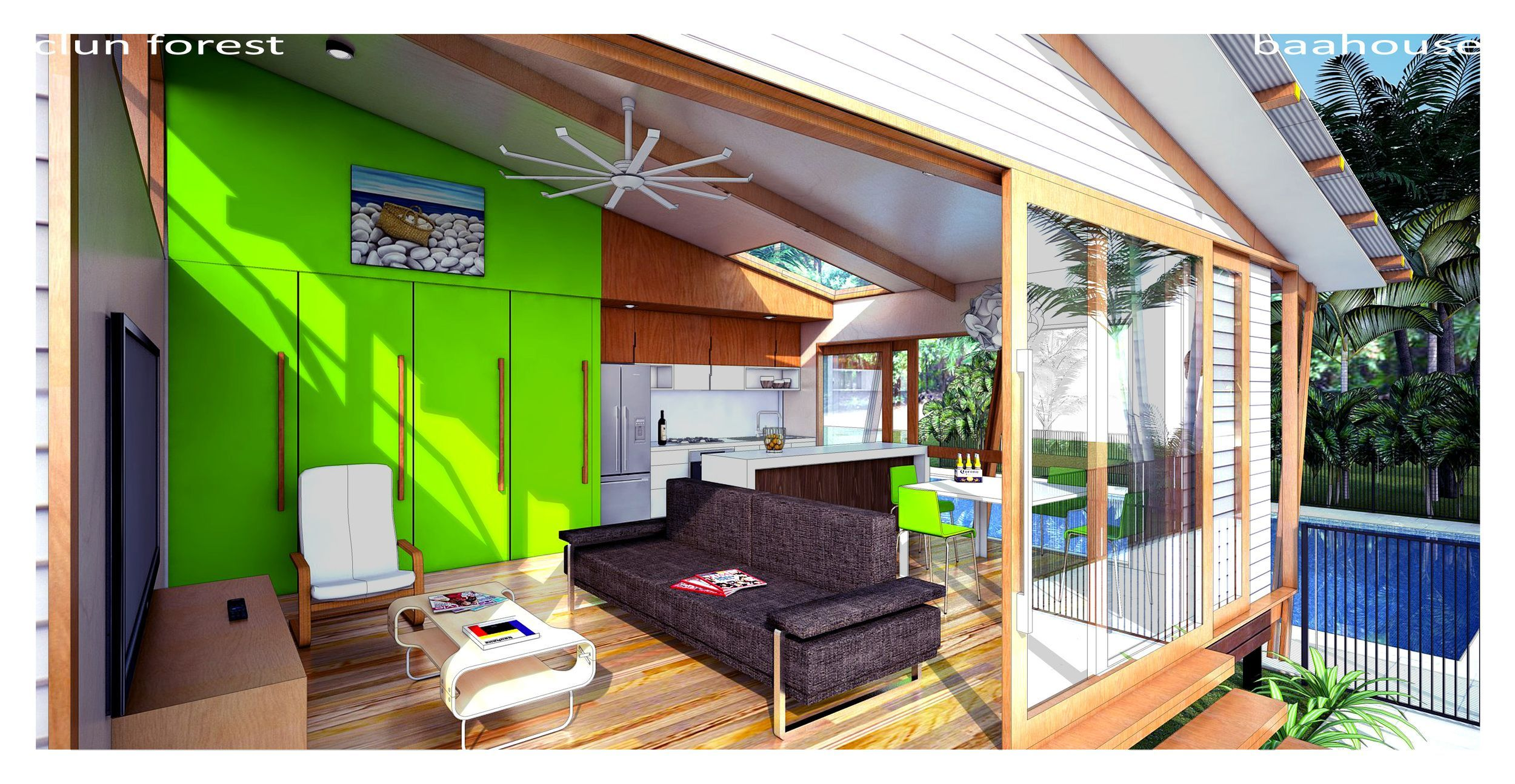 Brisbane A Modern Living Solution For Your Backyard Designed By