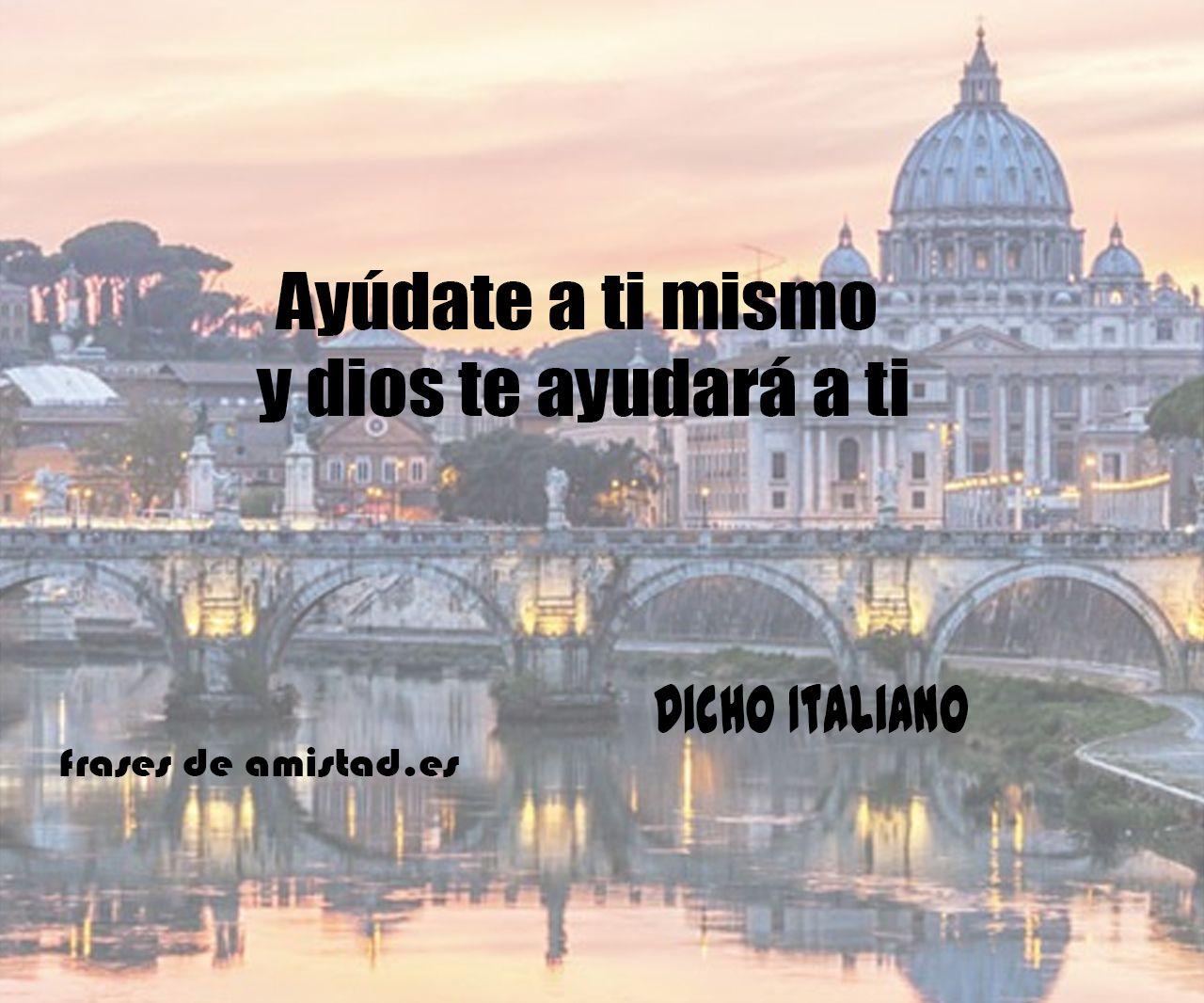 Frases De Amistad En Italiano Traducidas Frases De Amistad Pinterest