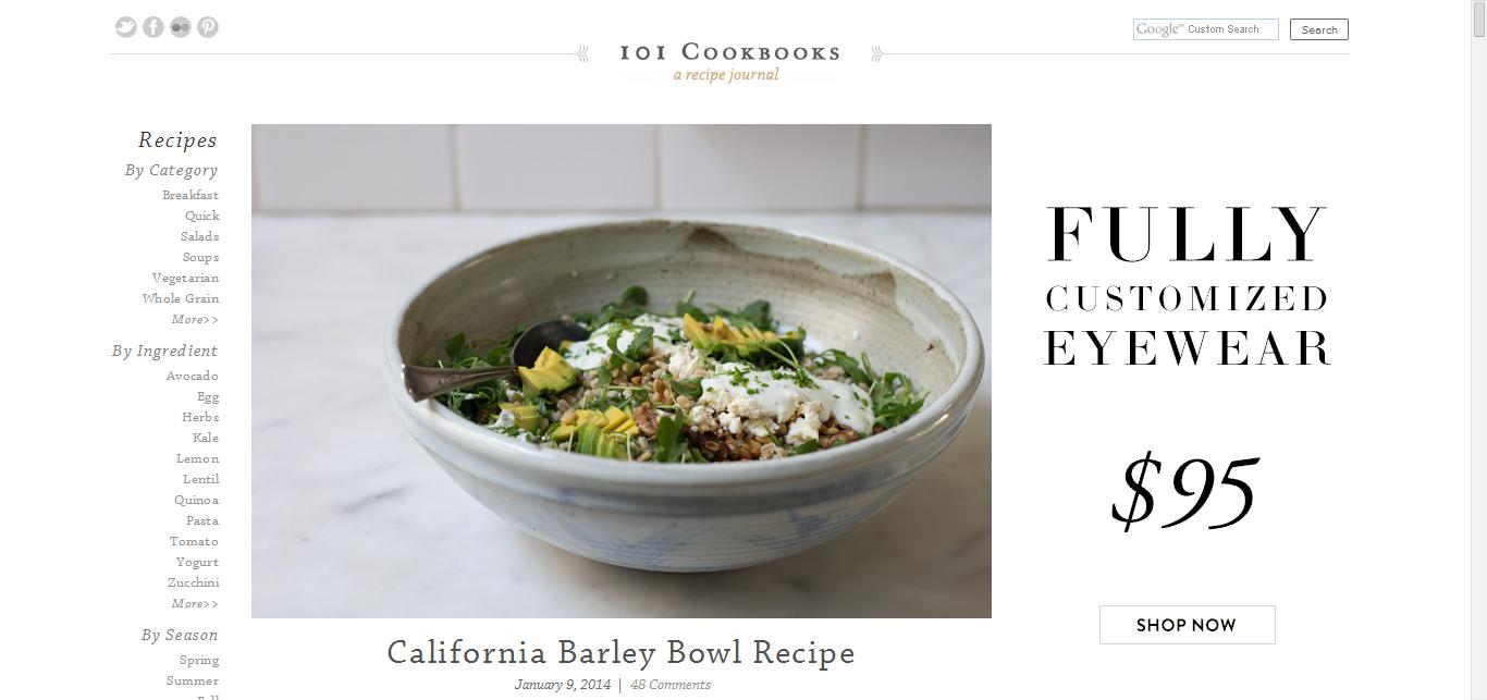 California Barley Bowl Recipe - 101 Cookbooks