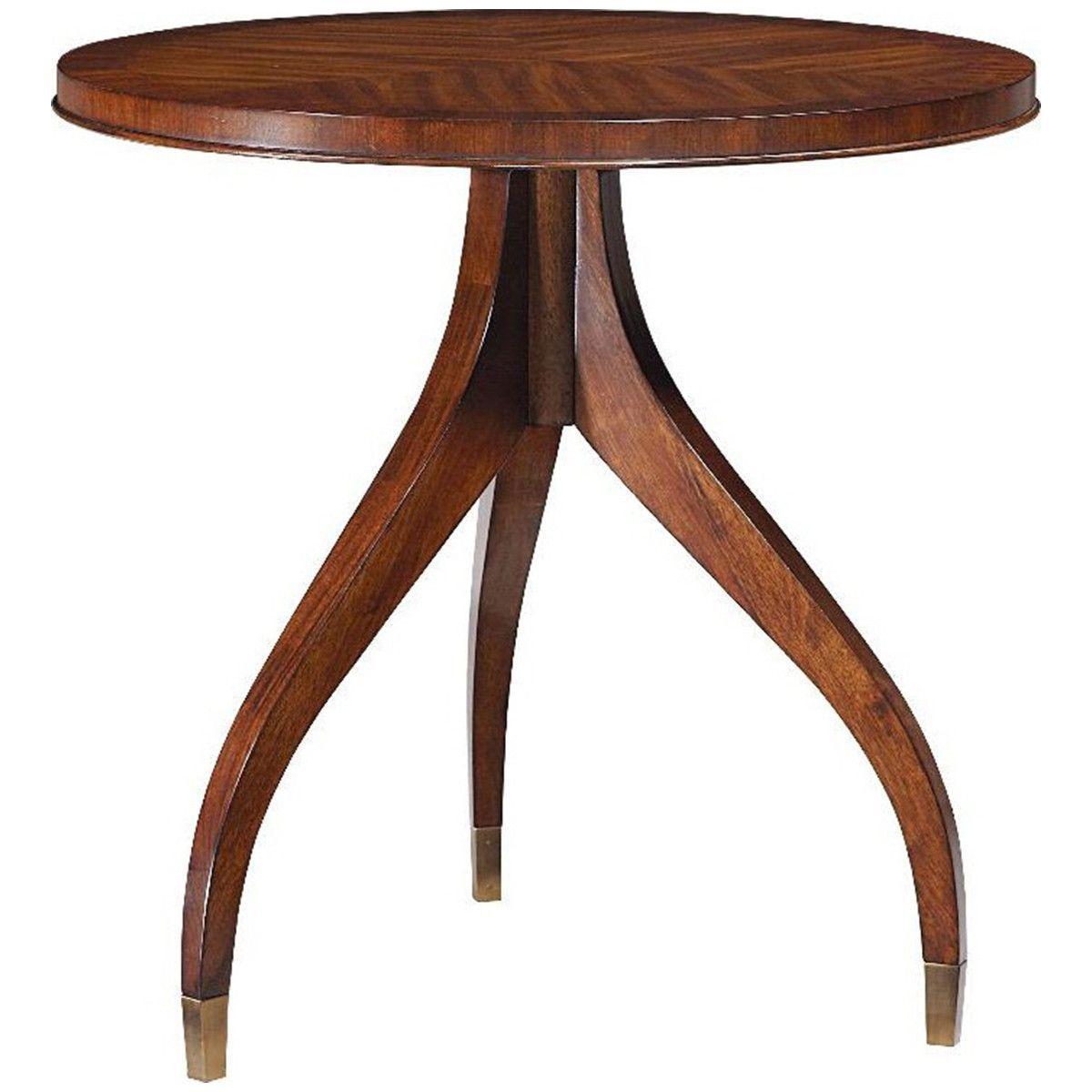 Fine Furniture Design Boulevard Round End Table