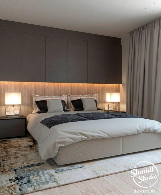 Amazing Simple Master Bedroom Design Ideas #bedroom #colorbedroom #warmbedroom #bohowohnen