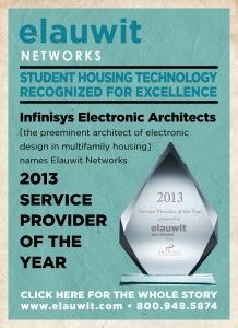 Elauwit recognized as Service Provider of the Year for 2013 - Elauwit