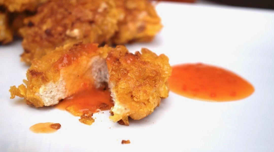 Knusprige Chicken Nuggets