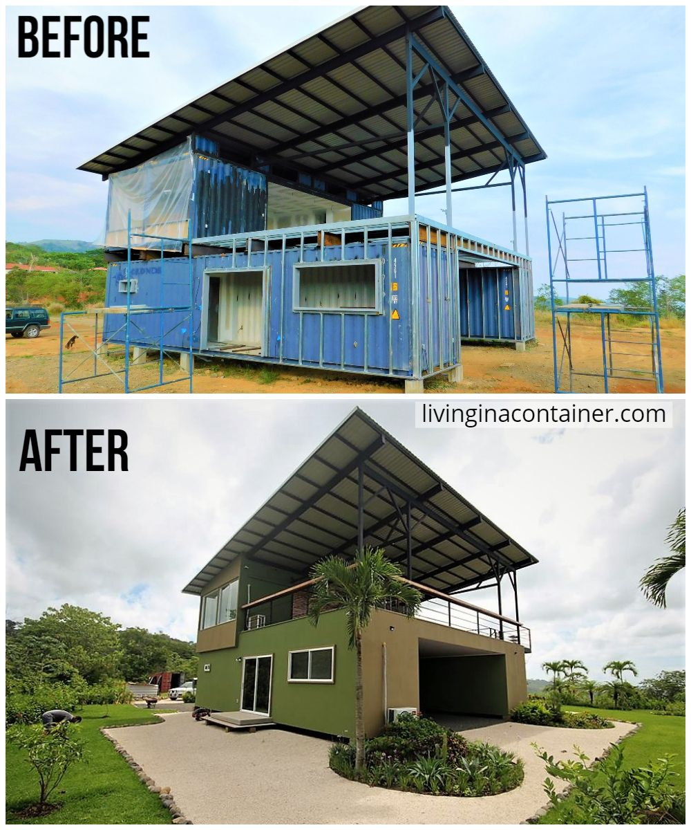 The Gorgeous Forest And Ocean View Container Home From Costa Rica Living In A Containe Container House Plans Container Homes Australia Container House Design