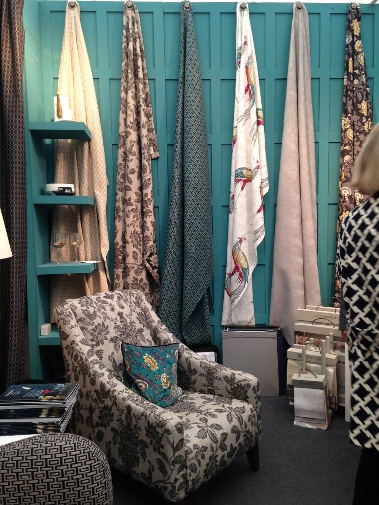 Fabric Exhibition Stand Ideas : Our stand at decorex displaying wedgwood home