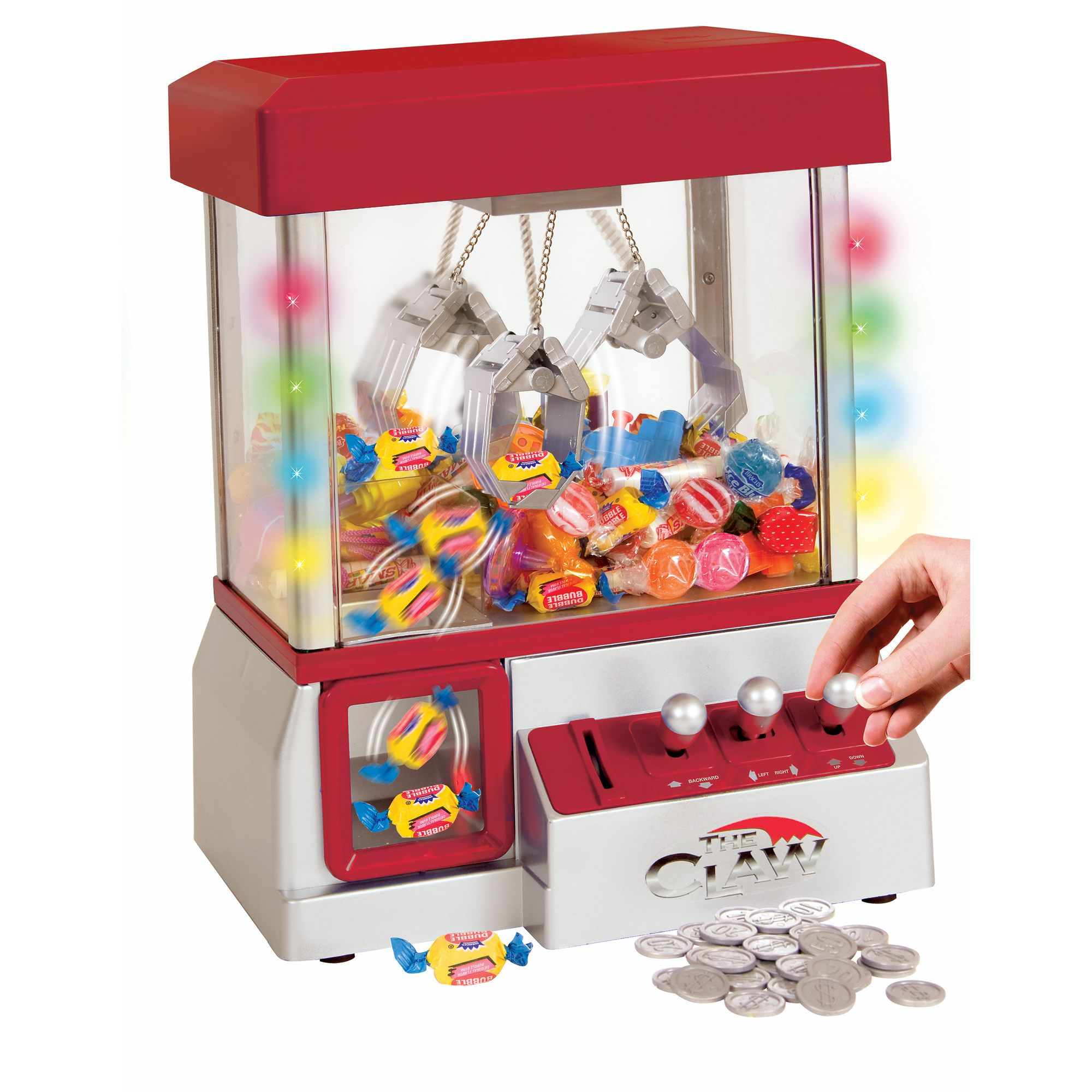 Etna Products The Claw Electronic Arcade Game with LED