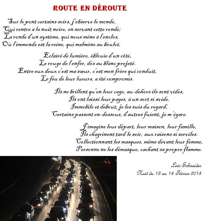 106 Route En Deroute Poesie Poeme Spectateur Analyser Nuit Noire Poeme Recueil De Poemes