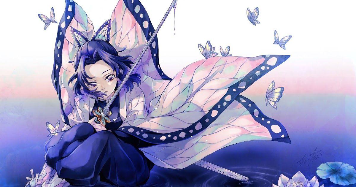 23 Descargar Wallpaper 4k Anime Shinobu Kochou Kimetsu No