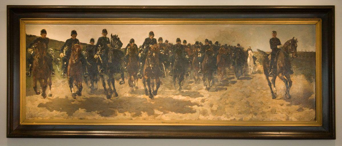 George Hendrik Breitner (1857-1923) - Cavalerie (1883-1888)