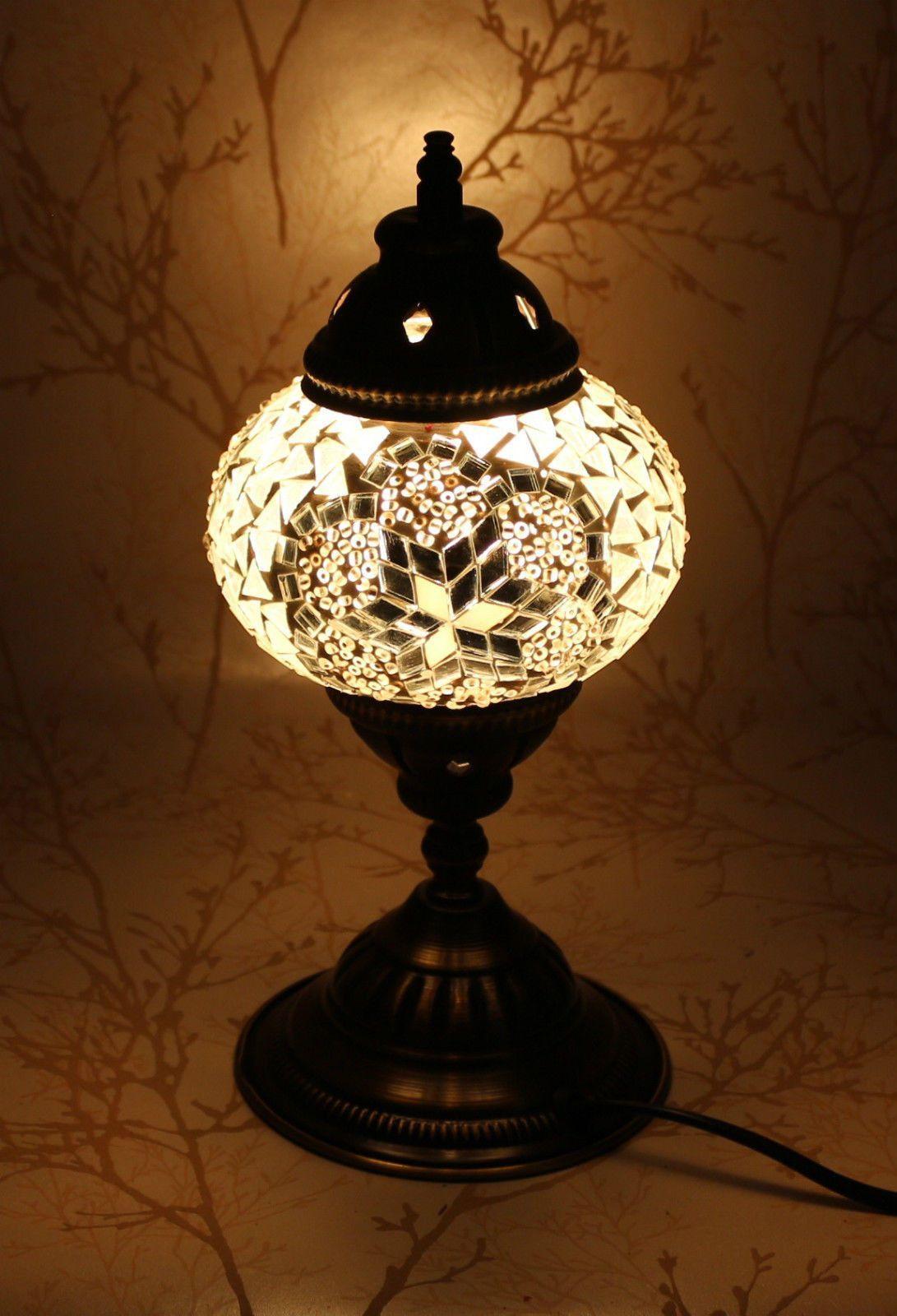 Turkish Mosaic Table Lamp Mystic Moon Turkish Mosaic Lamp