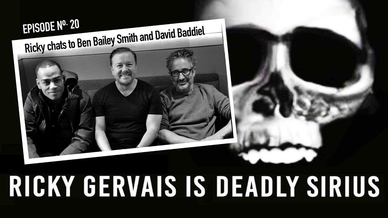 Ricky Gervais Is Deadly Sirius 020 Youtube Ricky Gervais Sirius David Baddiel
