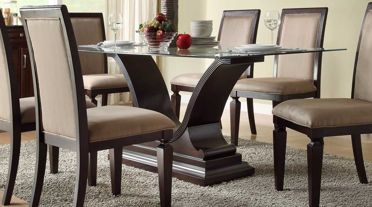 Captivating 15 Stylish Dining Table And Chairs   Always In Trend | Always In Trend |  Home Interior Part I | Pinterest | Dining Room Table, Room Set And Glass  Top Dining ...