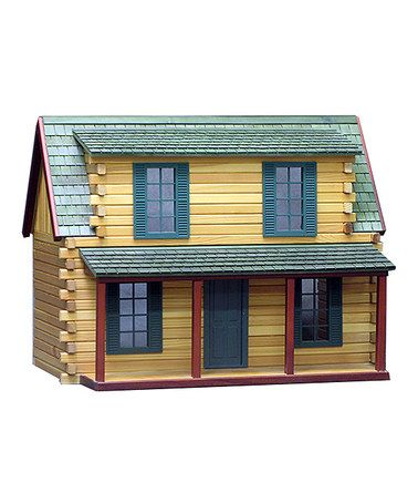 Look what I found on #zulily! Adirondack Cabin Finished Dollhouse by Real Good Toys, $200 !!   #zulilyfinds