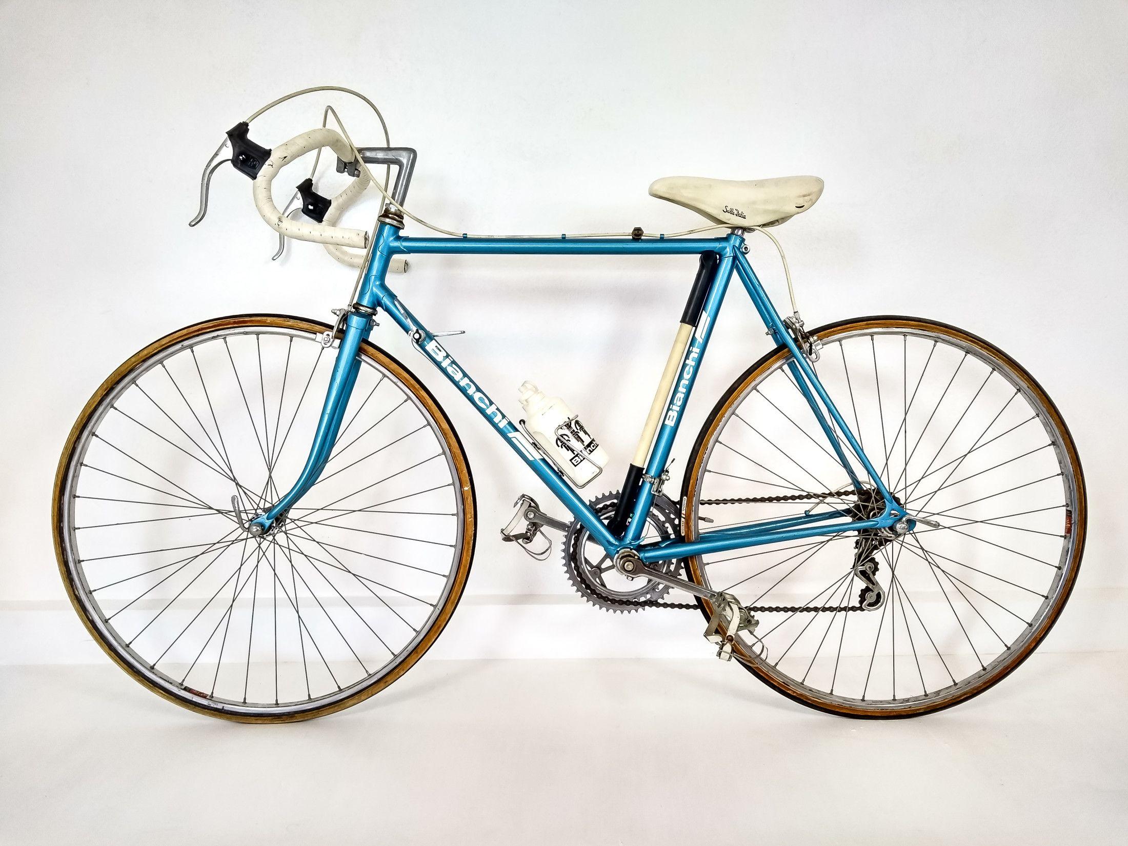 Bicicletta Da Corsa Edoardo Bianchi Vintage Sprint 28t Anni 70