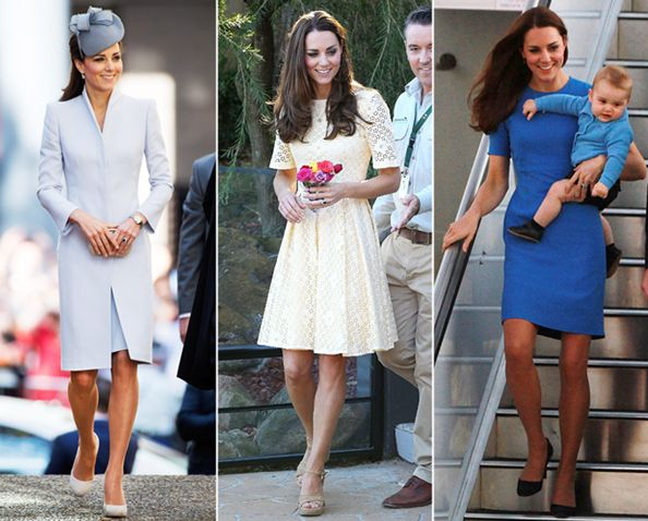 Kate Wins Easter Sunday S Best Dressed In Not One But Three Diffe Looks Instyle