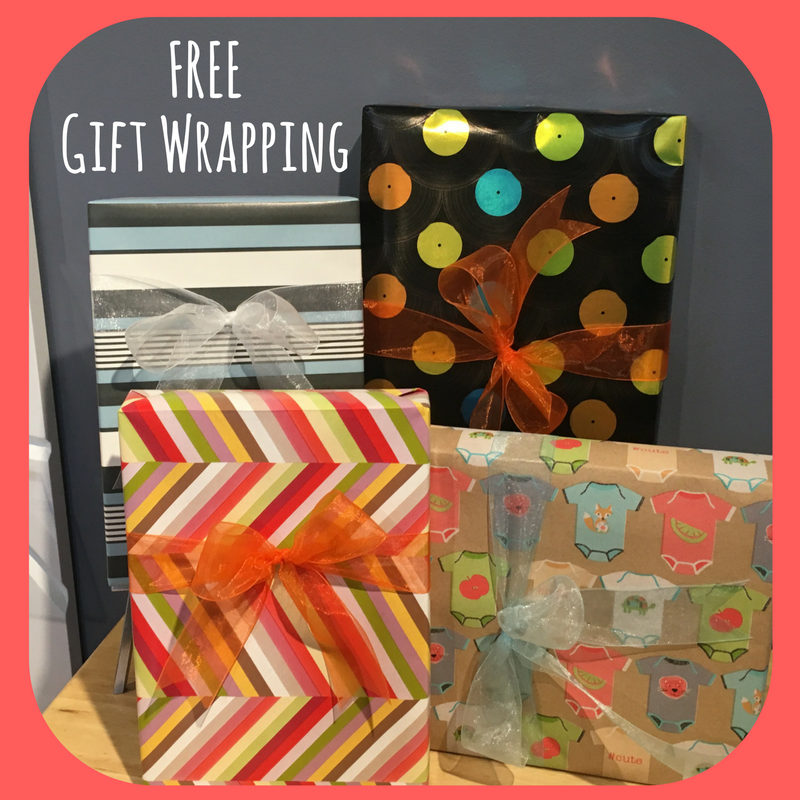 Have your purchase gift wrapped! All Day, Every Day at our #Andersonville #BarringtonIL & #Evanston stores!