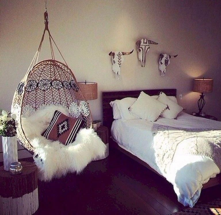 30 Mind Blowing Small Bedroom Decorating Ideas: 77+ Romany Bohemian Master Bedroom Decor Ideas #bedrooms
