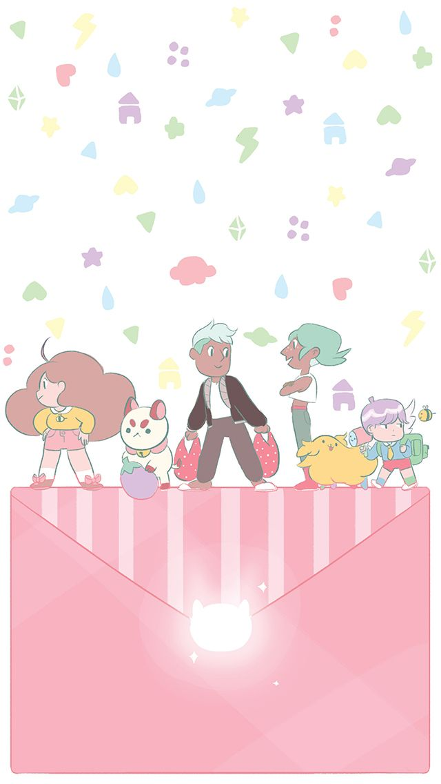Bee And Puppycat Tumblr Bee And Puppycat Bee Cute Cartoon Wallpapers