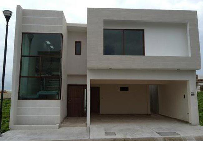 Fachadas de casas modernas mexicanas