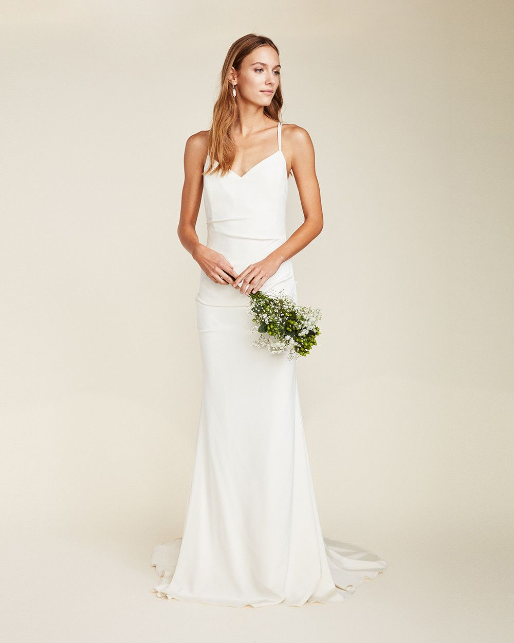 Celine bridal gown our celine gown is made from luxurious