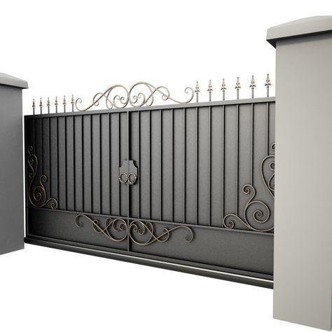 Modello 3D Cancello in ferro battuto 34 – TurboSquid 817505