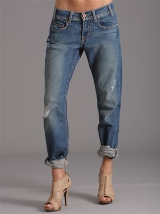 So we're pegging jeans again?