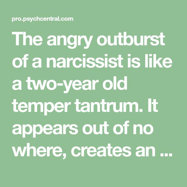 Five Ways a Narcissist Comes Unglued | The Narcissist