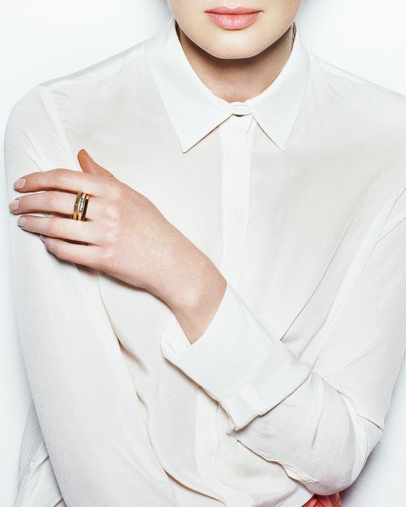 Minimal chic co de f orm la camicia bianca e la for Stile minimal chic