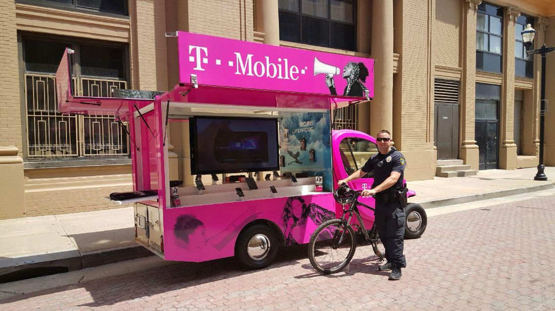 T-Mobile Aardy mobile sales vehicle. | Vehicles, Promotional events, Diesel